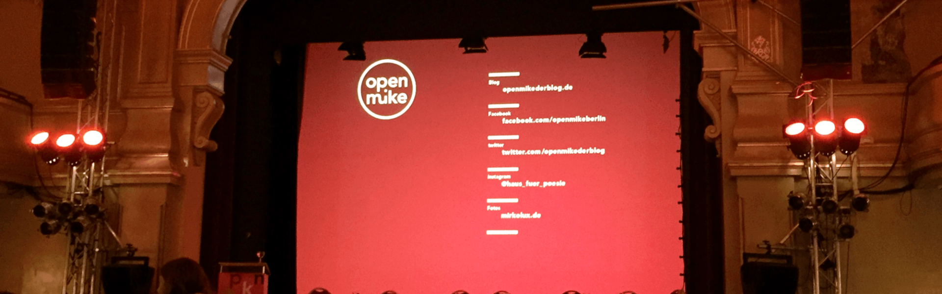 Open Mike, © Litradio